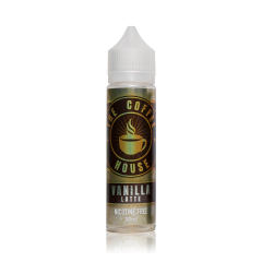 Vanilla Latte 50ml Shortfill E-Liquid