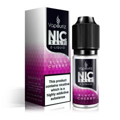 Black Cherry Nic Salts E-Liquid