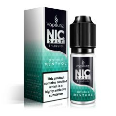 Double Menthol Nic Salts E-Liquid