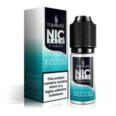 Menthol Special Blend Nic Salts E-Liquid