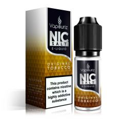 Original Tobacco Nic Salts E-Liquid