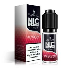 Strawberry Bliss Nic Salts E-Liquid