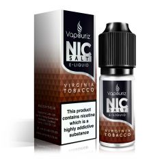 Virginia Tobacco Nic Salts E-Liquid