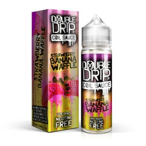 Strawberry Banana Waffle Short Fill E-Liquid 50ml