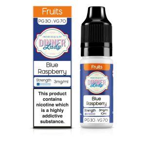 Blue Raspberry E-Liquid 10ml