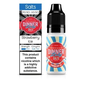 Strawberry Ice Nic Salt E-Liquid