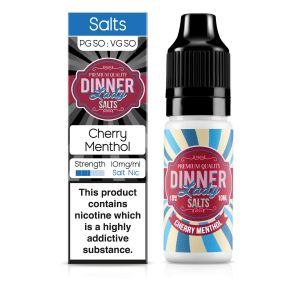 Cherry Menthol Nic Salt E-Liquid