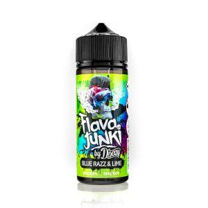 Flava Junki Blue Razz & Lime 100ml Shortfill E-Liquid
