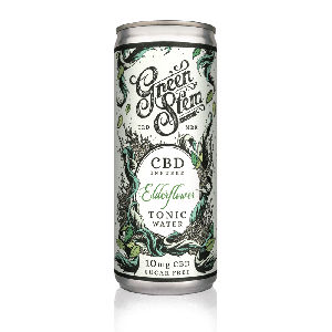 CBD Tonic Water - Elderflower