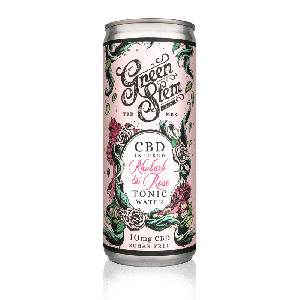 CBD Tonic Water - Rhubarb & Rose