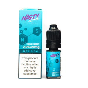 Slow Blow Nasty Salt E Liquid 10ml