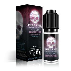Cold Blooded E-Liquid 10ml