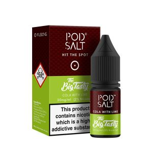 Fusion Cola with Lime Nic Salt E-Liquid