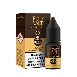 Fusion Lemon Cake Nic Salt E-Liquid