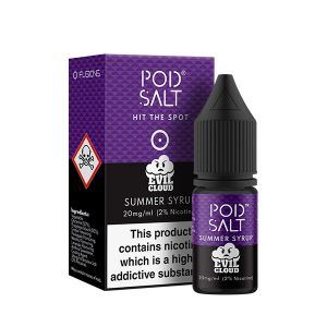 Fusion Summer Syrup Nic Salt E-Liquid