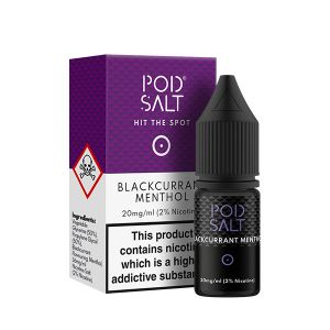 Blackcurrant Menthol Nic Salt E-Liquid