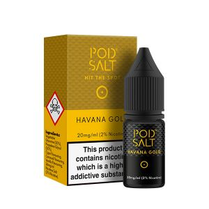 Havana Gold Nic Salt E-Liquid