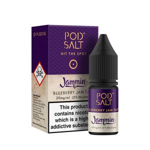 Fusion Blueberry Jam Tart Nic Salt E-Liquid