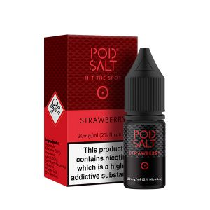 Strawberry Nic Salt E-Liquid