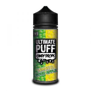 Candy Drops Lemon & Sour Apple Shortfill 0mg 100ml