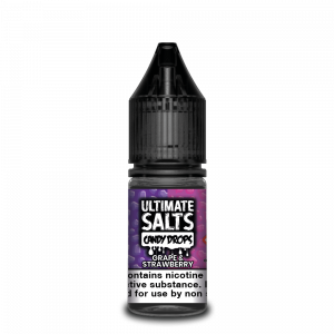 Grape and Strawberry Candy Drops Nic Salt E-Liquid