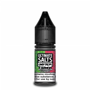 Watermelon and Cherry Candy Drops Nic Salt E-Liquid