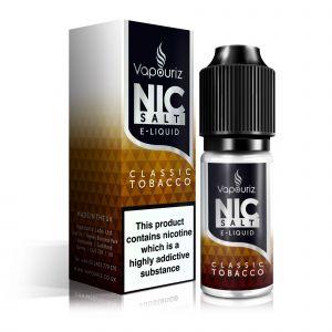 Classic Tobacco Nic Salts E-Liquid