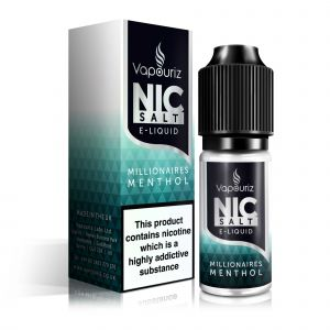 Millionaires Menthol Nic Salts E-Liquid