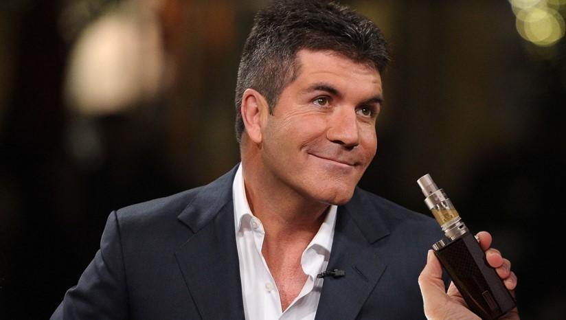 Simon Cowell Takes Up Vaping