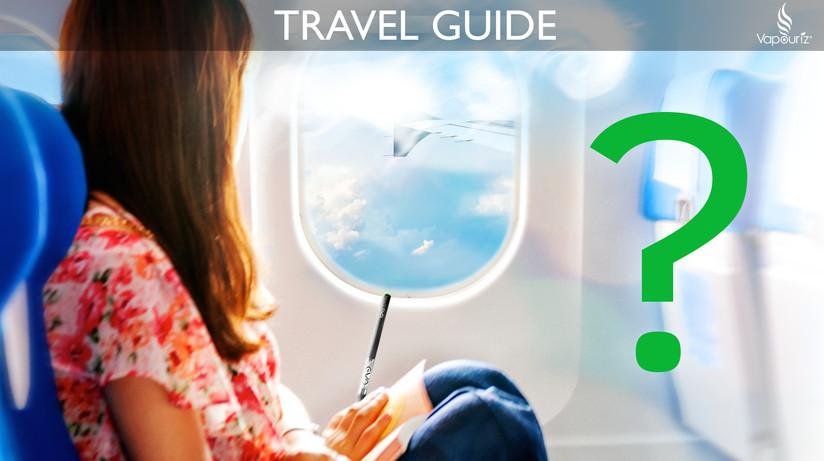 Guide to Travelling with your Vaping gear and E-Cigs