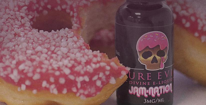 Win a FREE bottle of Jam-Nation E-Liquid from Pure Evil