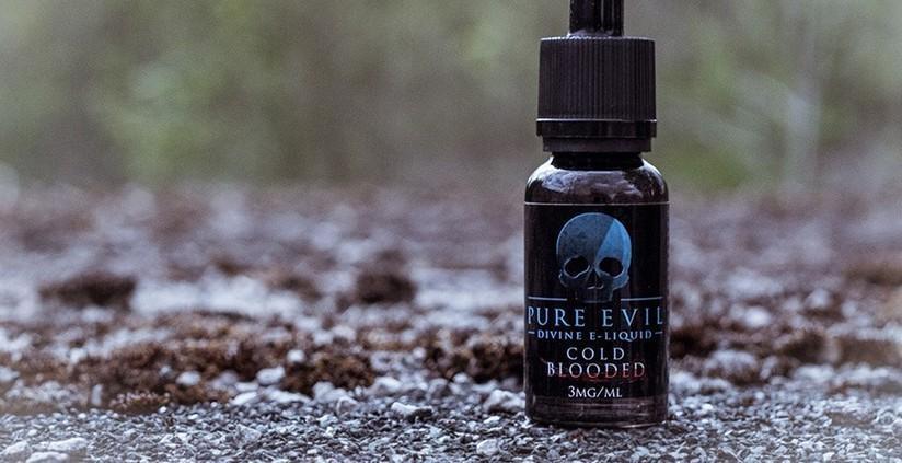 New Pure Evil Cold Blooded E-liquid