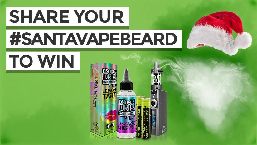 Enter our #SantaVapeBeard competition now!