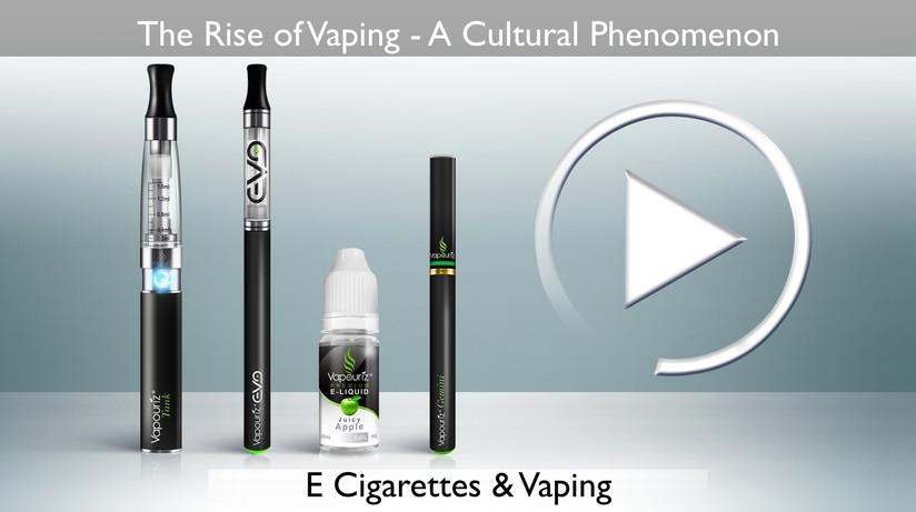 The Rise Of Vaping: A Cultural Phenomenon