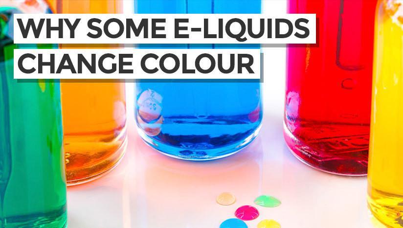 Why Some E-Liquids Change Colour