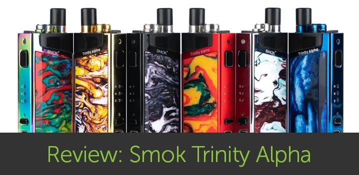 Review: Smok Trinity Alpha Kit