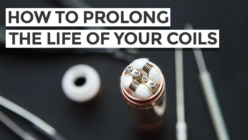 How to prolong the life of your vape coils