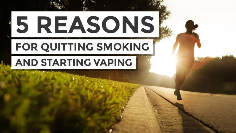 5 reasons to make the switch to e-cigarettes