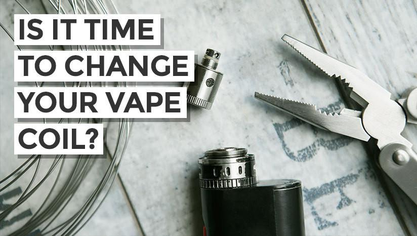 5 signs that show it's time to change your vape coil