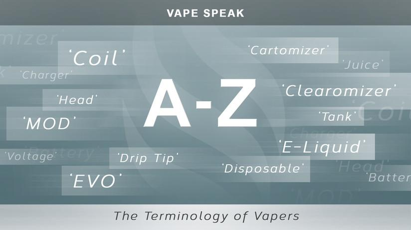 An A to Z Terminology Guide For E Cigarettes and 'Vapes'