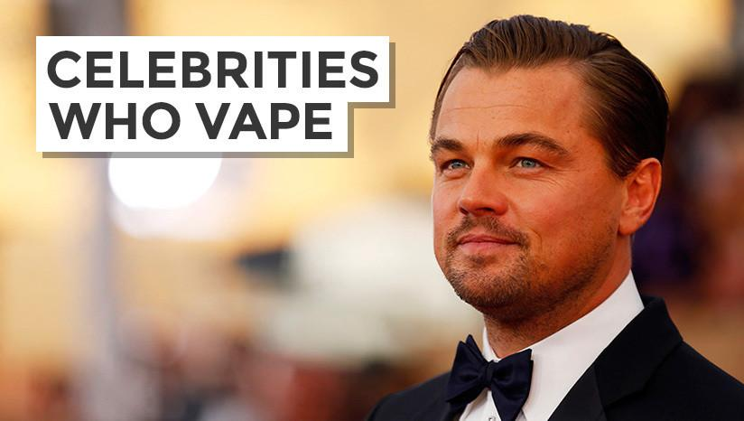 Celebrities who vape