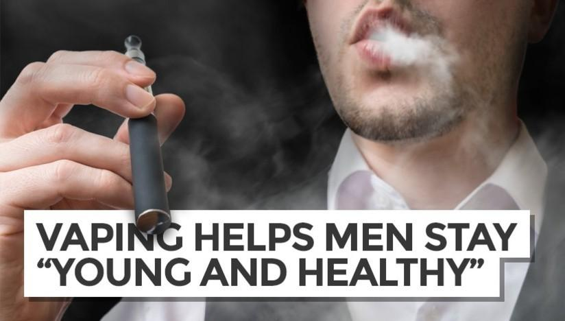 Celebrity Doctor Says Vaping Helps Men Stay Young & Vigorous