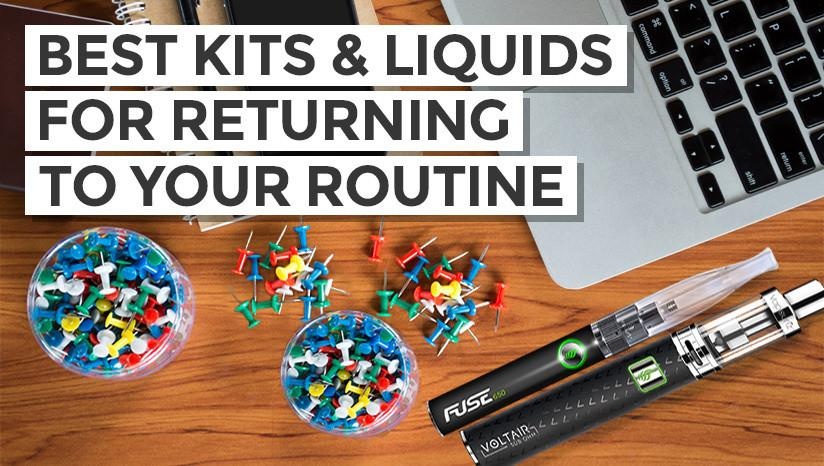 Back to Work? Best Kits & Liquids for Returning to Your Routine!
