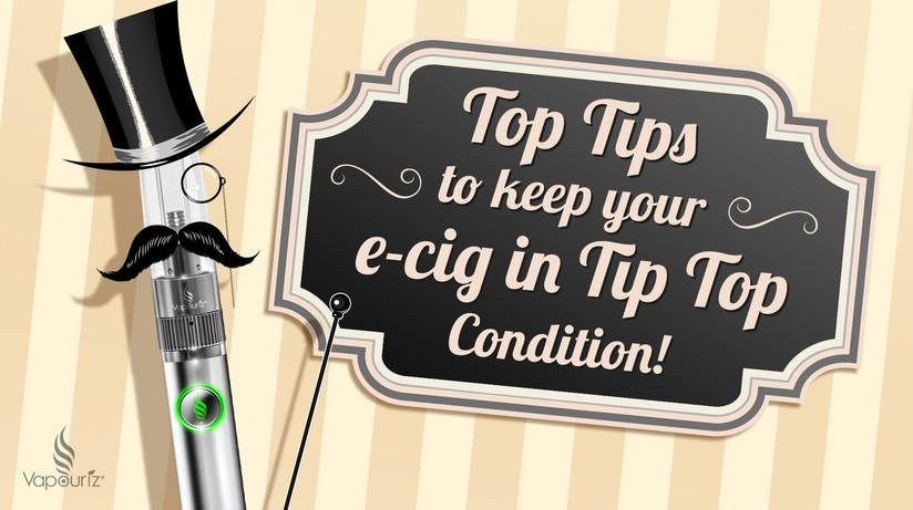 Guide to Maintaining your E-cigarette