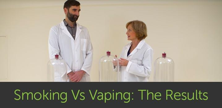 Smoking Vs Vaping: See The Results For Yourself