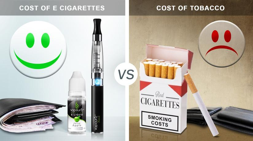 The Cost of Smoking vs The Cost of E-Cigarettes