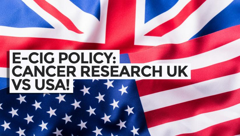 E-Cig Policy: Cancer Research UK vs US Surgeon General!