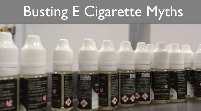 Busting The Myths About E-cigarettes