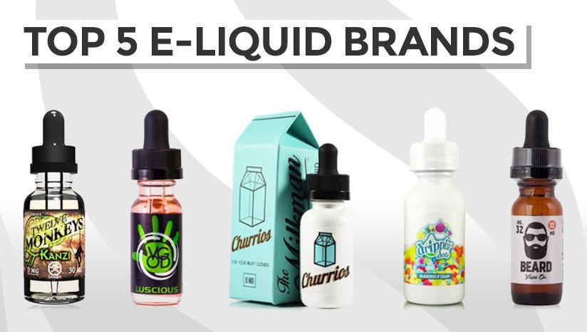 Top 5 e-liquid brands