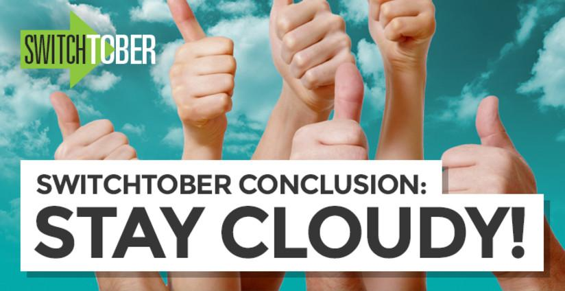 Switchtober Conclusion: Stay Cloudy!